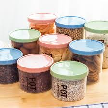 popular kitchen food storage canisters buy cheap kitchen food hipsteen 1pcs simple style household kitchen food storage box with scale sealed crisper grains pp canisters