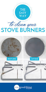 this is the easiest way to clean your stove burners cleaning