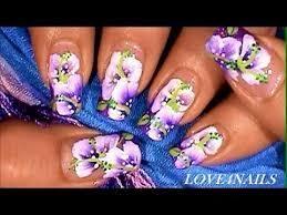different nail designs 2 colour nail art flowers best