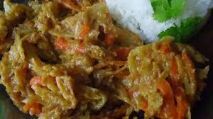 cuisiner le chou cuit chou cuit à la sauce vegan coco cacahuètes recette par une mure