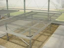 Metal Greenhouse Benches Benches Atlas Manufacturing Inc Custom Greenhouses