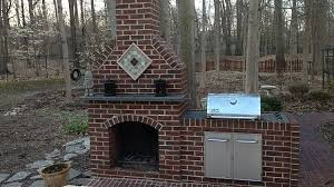 How To Lay Brick Fireplace by How To Build An Outdoor Fireplace Homesteading Diy Skills