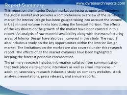 global interior design industry 2016 market overview size share tr u2026