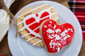 recipe holiday heart shaped sugar cookies home u0026 family