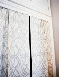 Curtains As Closet Doors Closet Curtains Transitional Closet Lonny Magazine