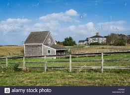 new england farmhouse charming new england farmhouse massachusetts usa stock photo