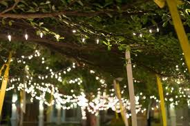 light the summer night patio party ideas homemaking cottage