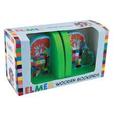 elmer wooden bookends 18 00 hamleys for elmer wooden bookends