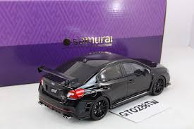 dark purple subaru subaru wrx sti s207 nbr challenge package black kyosho 1 18 ebay