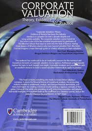 corporate valuation theory evidence and practice robert w