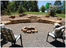 Firepit Rock Rock Pit Area Design And Ideas