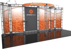antares 10x20 orbital express truss kit tradeshowdisplaypros com