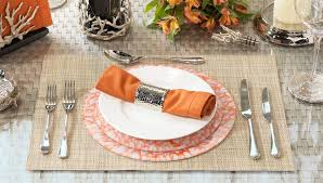 how to set a table with napkin rings michael aram hammertone napkin ring set luxdeco com