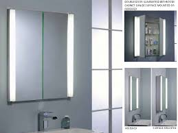cabinet lighting fascinating lighted bathroom mirror cabinet