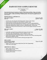 unusual ideas design resume for babysitter 2 babysitter resume