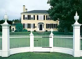 picket fences the best picket fences for old houses old house restoration