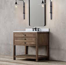 Restoration Hardware Bathroom Cabinet by Restoration Hardware Printmaker U0027s Single Vanity Sink 2195