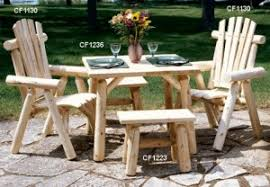 Log Outdoor Furniture by Rustic Outdoor Furniture Archives Page 2 Woodland Creek U0027s Log