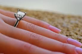 unique princess cut engagement rings 3 0 ct princess cut engagement ring 14k white gold bridal jewelry