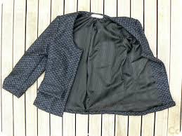 patron sac cuir gratuit couture gratuit pour petite veste style chanel