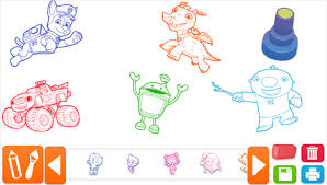 nick jr free draw kids coloring pictures download coloring pages