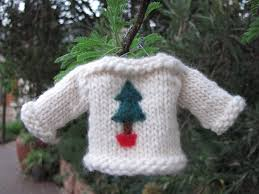 sweater jersey knitted ornament pattern handmade