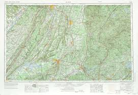 Map Rome Rome Topographic Maps Ga Al Usgs Topo Quad 34084a1 At 1