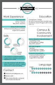 Infografic Resume 126 Best Infographic Resume Images On Pinterest Infographic