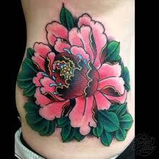 25 parasta ideaa pinterestissä japanese peony tattoo