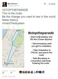 thanksgiving day parade map ferguson protesters in new york plotting revolt against macy u0027s
