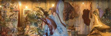 brian mceneny woodcarving gallery in seal rock oregon