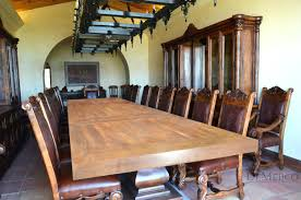 amazing rustic dining room with spanish style furniture 112