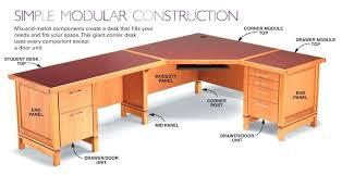 Diy Corner Desk Ideas Diy Corner Computer Desk Plans Aw 7 Modular Desk System Diy
