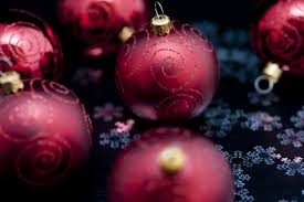 photo of rich maroon balls free images