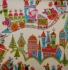 25 vintage wrapping papers for dollhouse 2013 note i