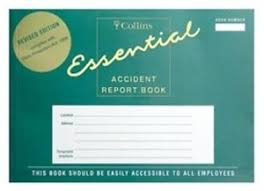 accident reporting book collins accident report book 20 pages arb2 123360 ebay