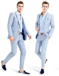 light blue pants mens new summer light blue men wedding suits casual peaked lapel grooms