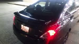 nissan versa trunk size blacked out 2014 nissan versa sl youtube
