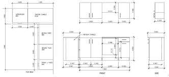hauteur standard plan de travail cuisine taille standard meuble cuisine atourdissant hauteur plan de