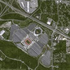 Arrowhead Stadium Map Pléiades Satellite Image U2013 Arrowhead Stadium Kansas City Airbus