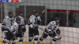 bentley university athletics logo hockey highlights bentley vs sacred heart feb 17 youtube