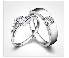 sale silver rings images Online cheap newest hot sale couples rings 925 sterling silver jpg