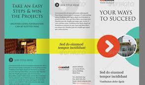 tri fold brochure template indesign free indesign tri fold brochure template trifold brochure template