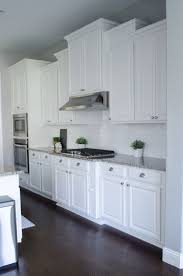 Kitchen Cabinet Door Molding Installing Crown Molding On Overlay Cabinets How To Install