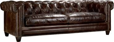 faux leather chesterfield sofa hooker furniture imperial regal stationary leather chesterfield