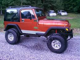 jeep wrangler 88 purchase used 1988 jeep wrangler with fuel injected 350 chevrolet