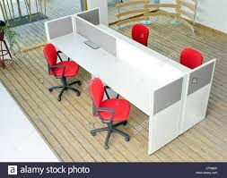 Office Chair Top View Office Desks And Red Chairs Cubicle Set View From Top Over Wood