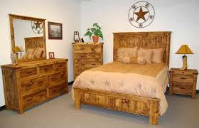 Natural Pine Bedroom Furniture by Dallas Designer Furniture Natural Finish Reclaimed Wood Rustic