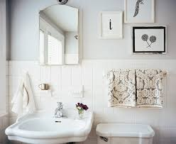 Black And White Bathroom Tile Design Ideas Black White Vintage Bathroom Decor