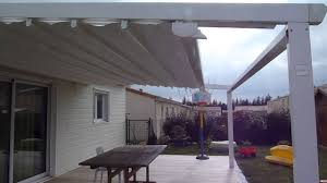 Retractable Pergola Awning by